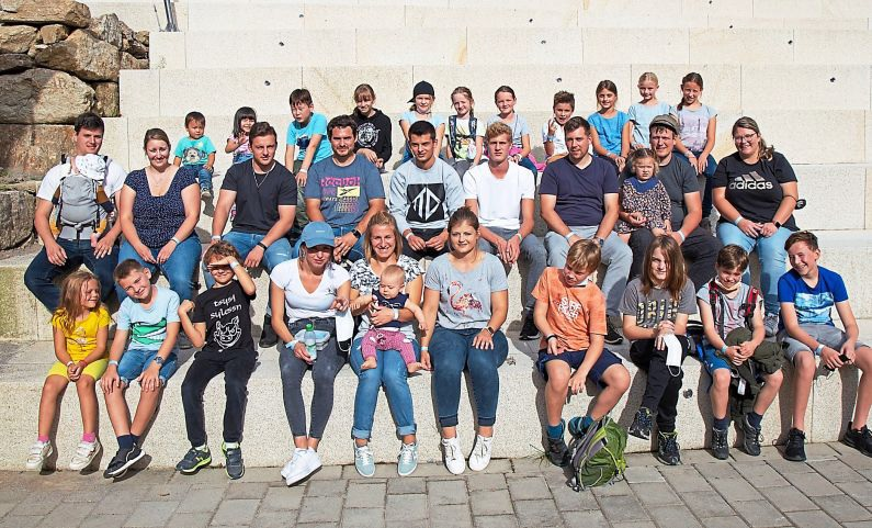 Gruppenbild Ausflug Edelwies